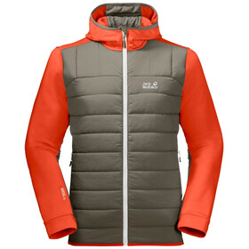 Jack Wolfskin Crossing Peak Jacket Men wild brier